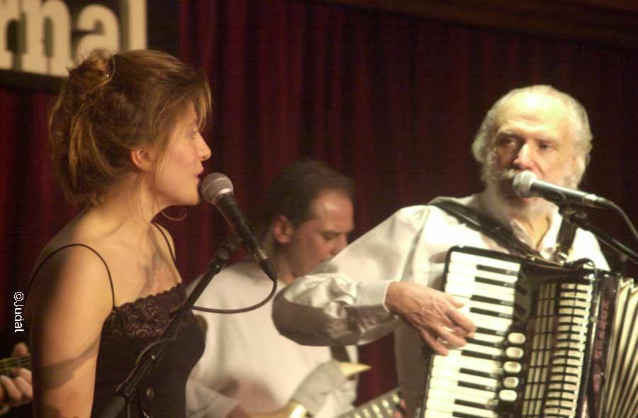 Maria Teresa et Georges Moustaki