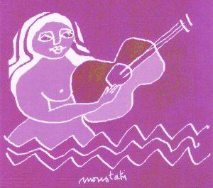 Dessin Moustaki ©editions Paille Musique